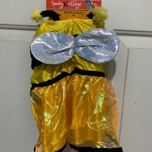Bee Pet Costume Small